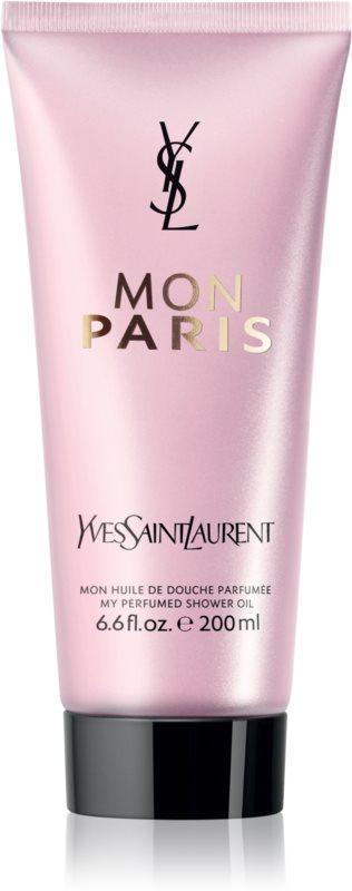 Yves Saint Laurent Mon Paris tusoló olaj nőknek 200 ml