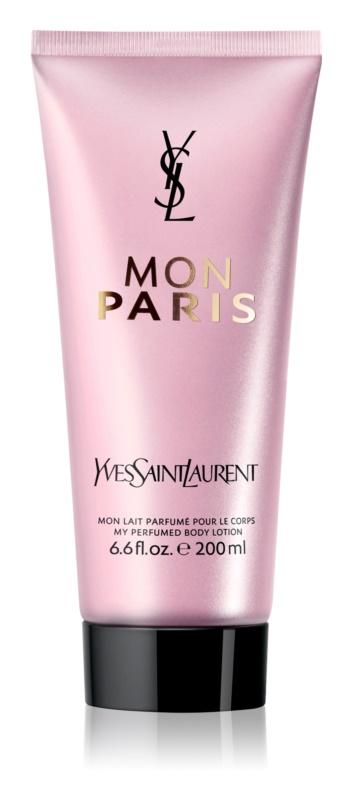 Yves Saint Laurent Mon Paris Bodylotion  voor Vrouwen  200 ml
