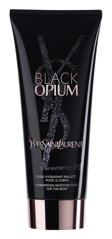 Yves Saint Laurent Black Opium emulsione corpo per donna 200 ml