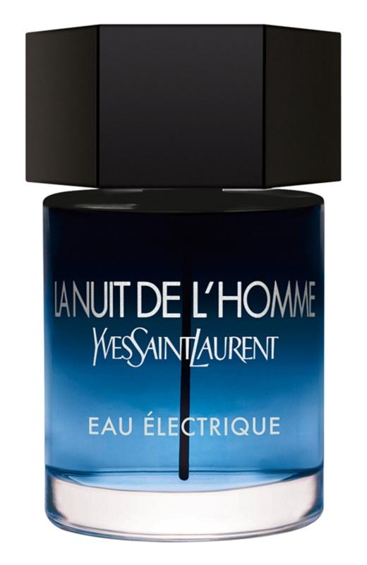 Yves Saint Laurent La Nuit de L'Homme Eau Électrique woda toaletowa dla mężczyzn 100 ml