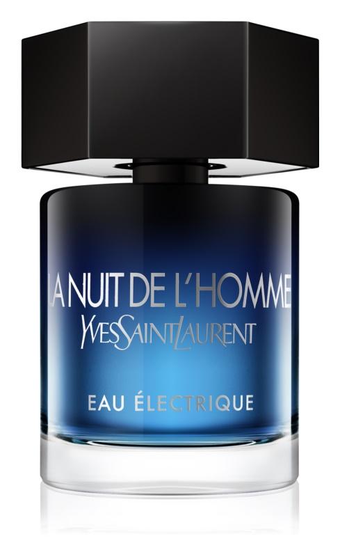Yves Saint Laurent La Nuit de L'Homme Eau Électrique eau de toilette férfiaknak 100 ml