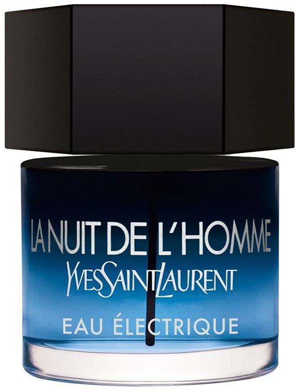 Yves Saint Laurent La Nuit de L'Homme Eau Électrique woda toaletowa dla mężczyzn 60 ml