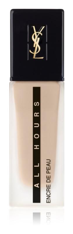 Yves Saint Laurent Encre de Peau All Hours Foundation langanhaltendes Make-up SPF 20