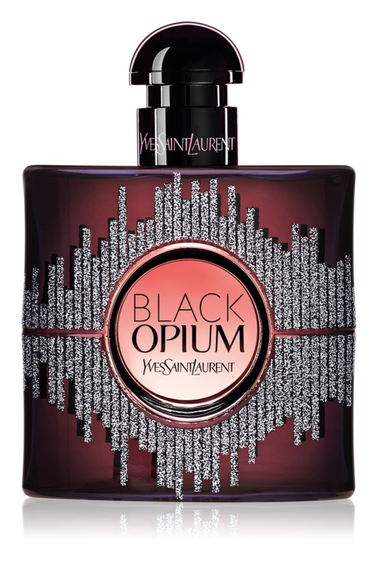 Yves Saint Laurent Black Opium Eau de Parfum for Women 50 ml Limited Edition Sound Illusion