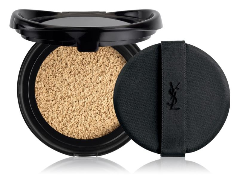 Yves Saint Laurent Encre de Peau Le Cushion dlouhotrvající make-up v houbičce SPF 23 náhradní náplň