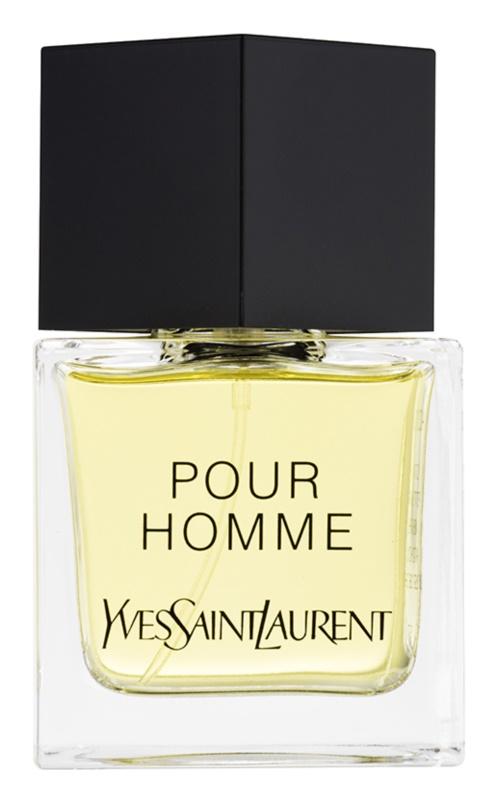 Yves Saint Laurent Pour Homme Eau de Toilette for Men 80 ml