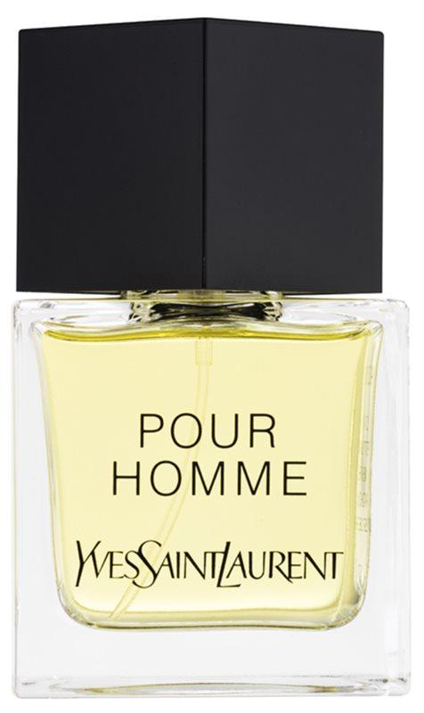 Yves Saint Laurent Pour Homme Eau de Toilette voor Mannen 80 ml