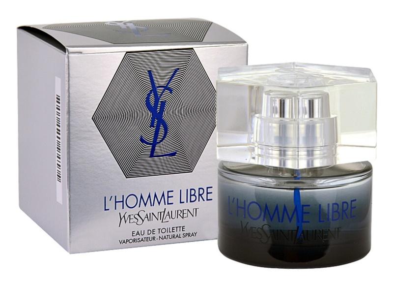 Yves Saint Laurent L'Homme Libre toaletná voda pre mužov 40 ml
