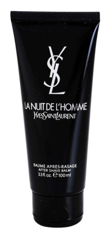 Yves Saint Laurent La Nuit de L'Homme bálsamo após barbear para homens 100 ml