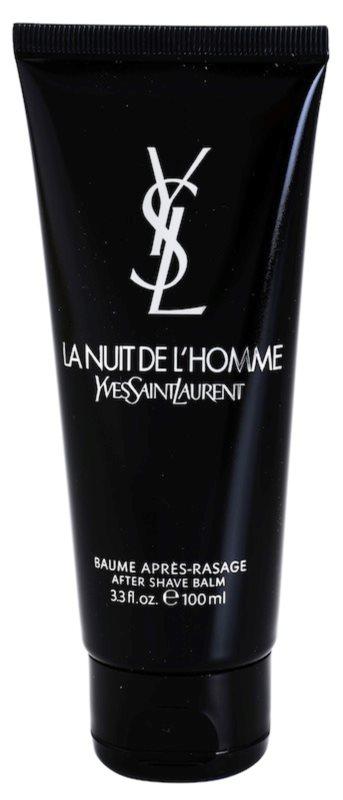 Yves Saint Laurent La Nuit de L'Homme balzám po holení pre mužov 100 ml