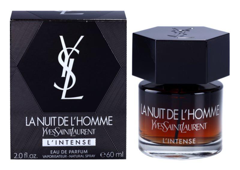 Yves Saint Laurent La Nuit de L'Homme L'Intense woda perfumowana dla mężczyzn 60 ml