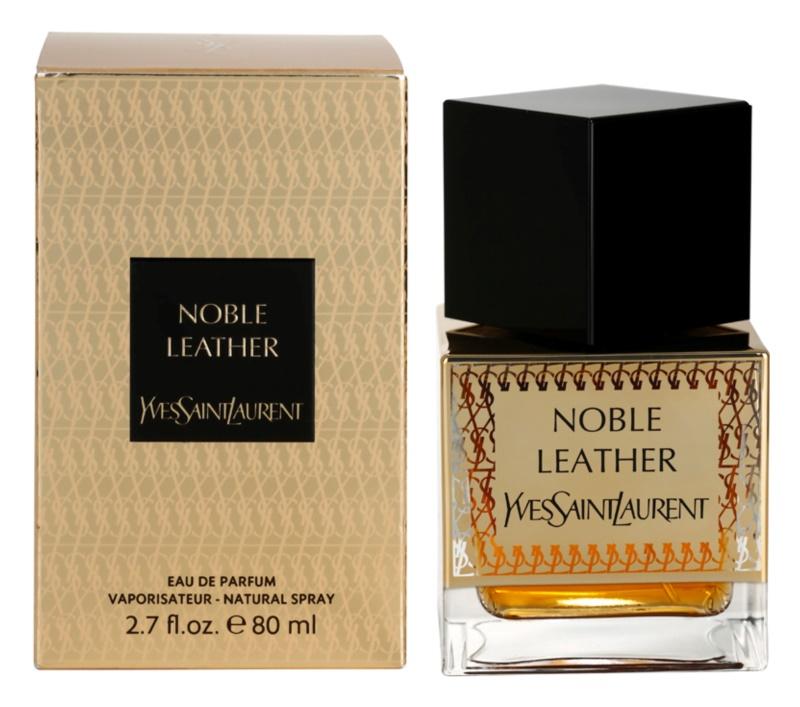 Yves Saint Laurent The Oriental Collection: Noble Leather Parfumovaná voda unisex 80 ml