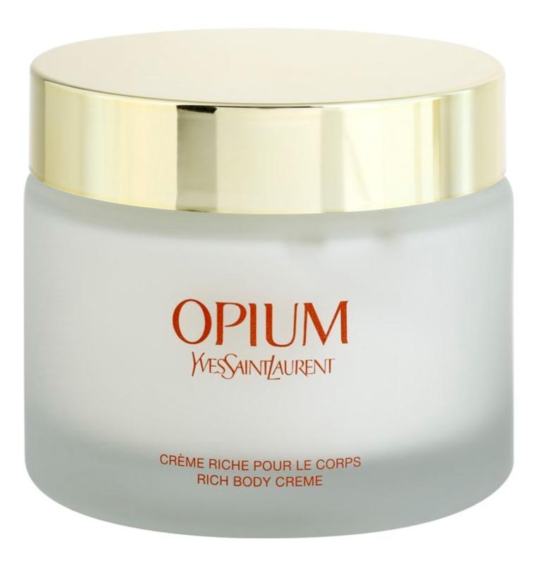 Yves Saint Laurent Opium tělový krém pro ženy 200 ml