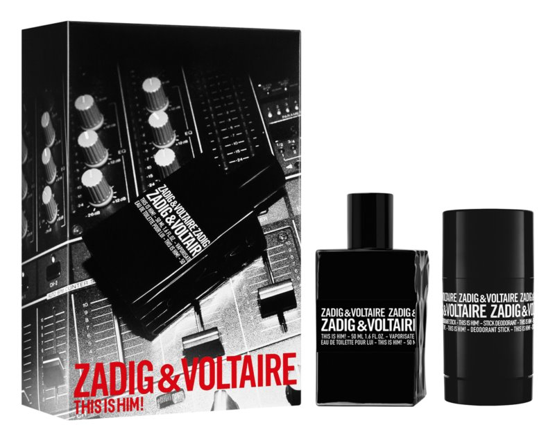 Zadig & Voltaire This is Him! ajándékszett V.