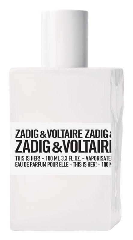 Zadig & Voltaire This Is Her! Eau de Parfum voor Vrouwen  100 ml