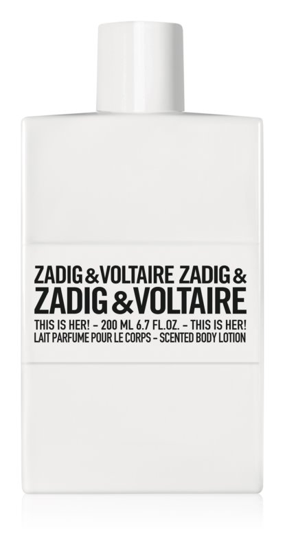 Zadig & Voltaire This Is Her! тоалетно мляко за тяло за жени 200 мл.