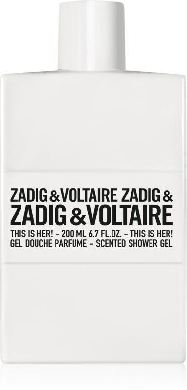 Zadig & Voltaire This Is Her! Douchegel voor Vrouwen  200 ml