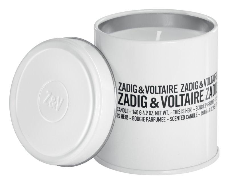 Zadig & Voltaire This Is Her! vonná sviečka pre ženy 140 ml