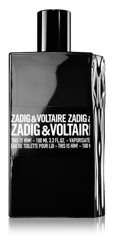 Zadig & Voltaire This Is Him! Eau de Toilette für Herren 100 ml