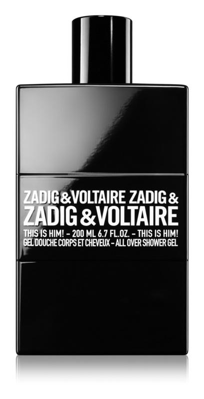 Zadig & Voltaire This Is Him! Duschgel für Herren 200 ml