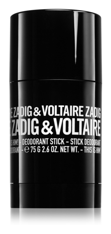 Zadig & Voltaire This Is Him! Deodorant Stick for Men 75 g