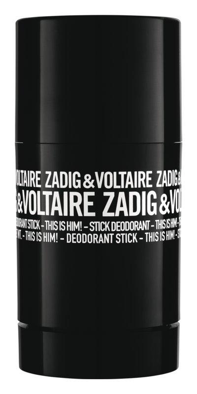 Zadig & Voltaire This Is Him! dédorant stick pour homme 75 g
