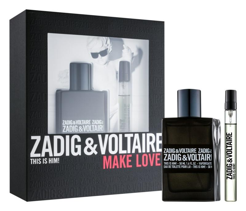 Zadig & Voltaire This Is Him! ajándékszett IV.