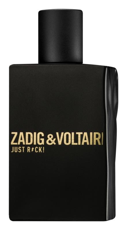 Zadig & Voltaire Just Rock! eau de toilette pentru barbati 50 ml