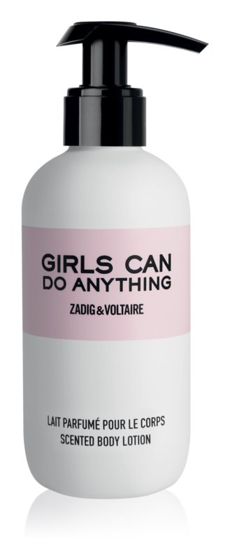 Zadig & Voltaire Girls Can Do Anything leite corporal para mulheres 200 ml