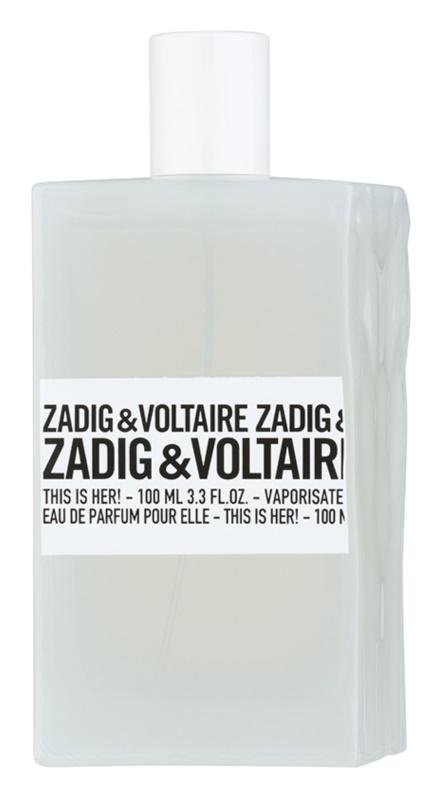 zadig voltaire this is her eau de parfum pentru femei 100 ml