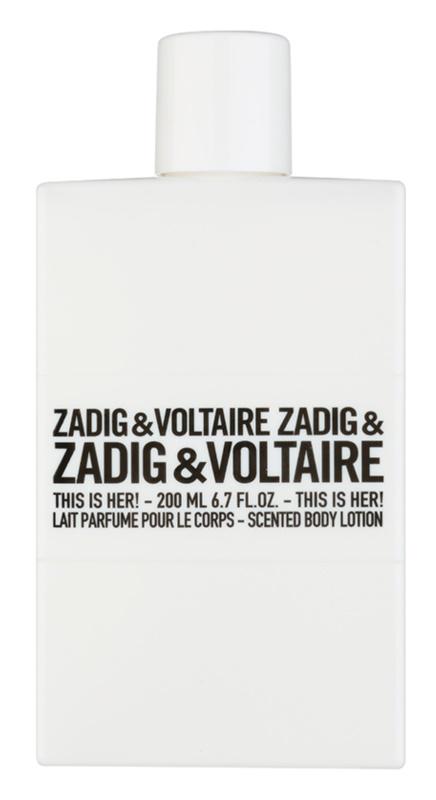 Zadig & Voltaire This Is Her! lapte de corp pentru femei 200 ml