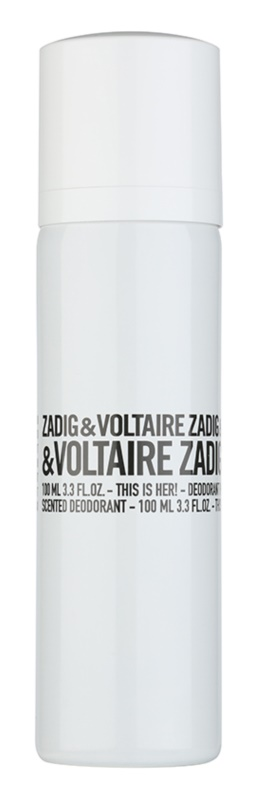 Zadig & Voltaire This Is Her! Deo Spray for Women 100 ml