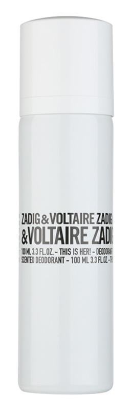 Zadig & Voltaire This Is Her! Deo-Spray für Damen 100 ml