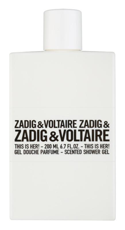 Zadig & Voltaire This Is Her! sprchový gél pre ženy 200 ml