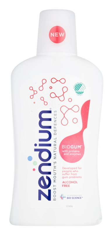 Zendium BioGum elixir bocal para proteção de dentes e gengivas