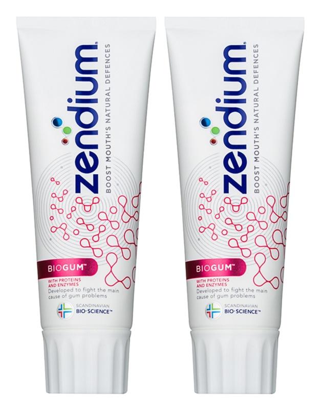 Zendium BioGum pasta de dientes protección total duo