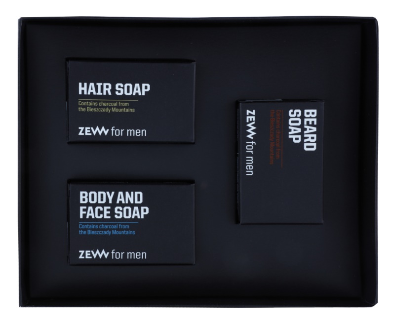 Zew For Men lote cosmético IV.