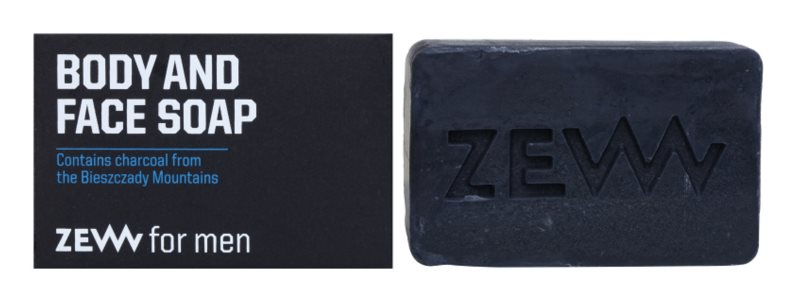 Zew For Men Natural Bar Soap For Body and Face