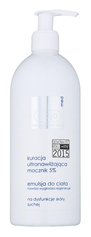 Ziaja Med Ultra-Moisturizing with Urea regenerační emulze pro hydrataci a vyhlazení pokožky