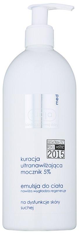 Ziaja Med Ultra-Moisturizing with Urea regenerierende Emulsion zur Feuchtigkeitsversorgung und Glättung der Haut