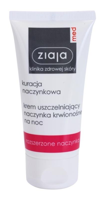 Ziaja Med Capillary Care stärkende Nachtcreme zur Vermeidung platzender Blutgefäße und der Bildung geweiteter Blutgefäße