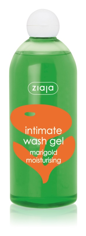 Ziaja Intimate Wash Gel Herbal Gel for Intimate Hygiene with Moisturizing Effect