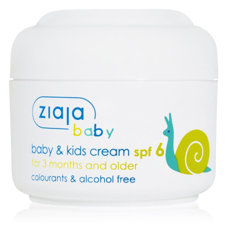 Ziaja Baby Cream For Kids SPF 6