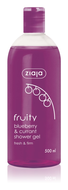 Ziaja Fruity Blueberry & Currant Refreshing Shower Gel