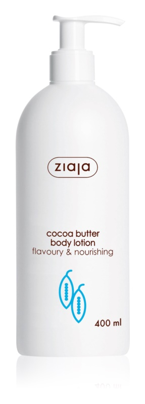 Ziaja Cocoa Butter Nourishing Body Milk With Cacao Butter