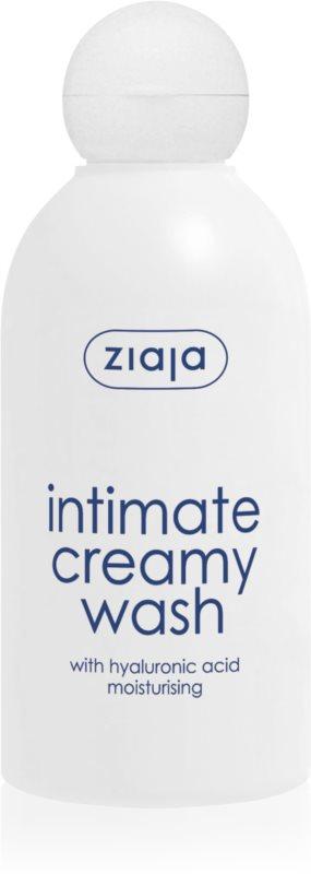 Ziaja Intimate Creamy Wash Gel for Intimate Hygiene With Moisturizing Effect