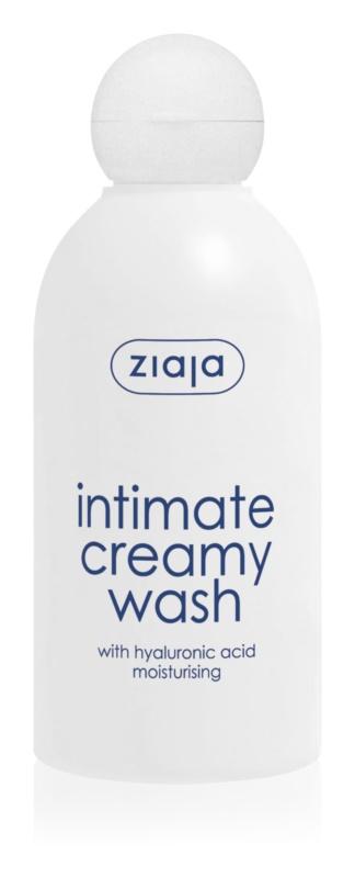 Ziaja Intimate Creamy Wash gel pentru igiena intima cu efect de hidratare