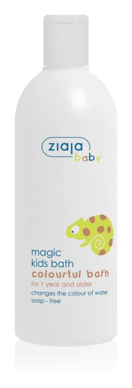 Ziaja Baby Colour-Changing Bubble Bath for Kids 12 months and older