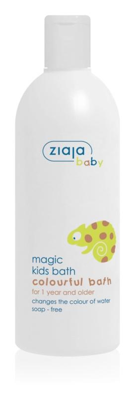 Ziaja Baby pianka do kąpieli zmieniająca kolor dla dzieci od 12 miesięcy
