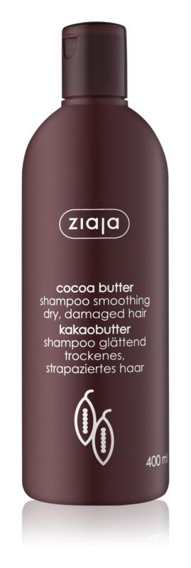 Ziaja Cocoa Butter champô nutritivo com manteiga de cacau